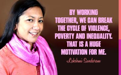 Meet Lakshmi Sundaram
