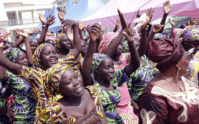 Freed Chibok Girls Reunited with Parents