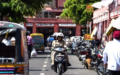 India's All-Female Motorcycle Squad